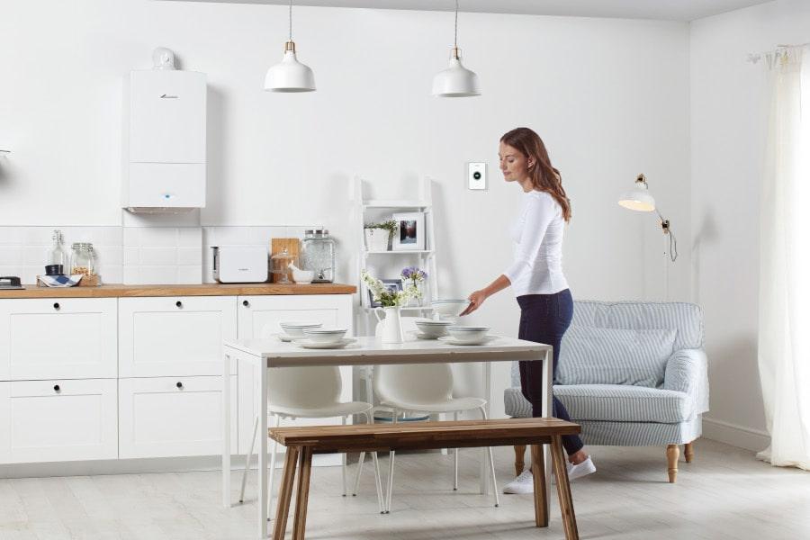 Heating Engineer Sherford - Boiler Kitchen Diner - Moorland Heating